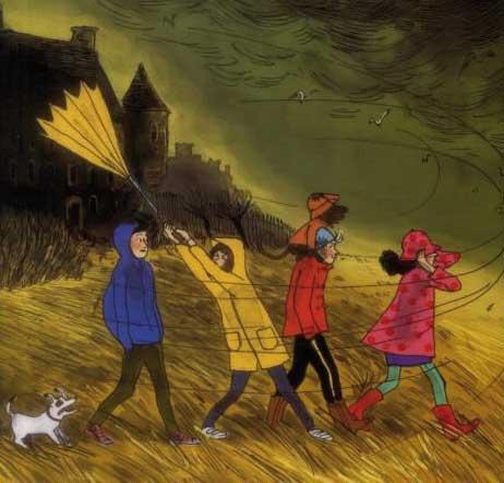 Le Club de la Pluie brave les tempêtes Malika Ferdjoukh