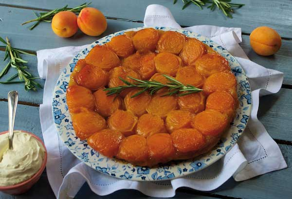 Tatin aux abricots